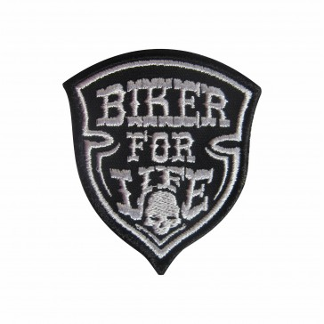 Emblema, Patch  Biker for life