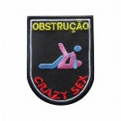 Emblema, Patch, Crazy Sex - Obstrução