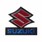 Emblema, Patch  Motard Marca Suzuki
