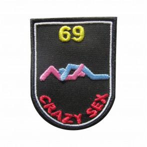 Emblema, Patch, Crazy Sex - 69
