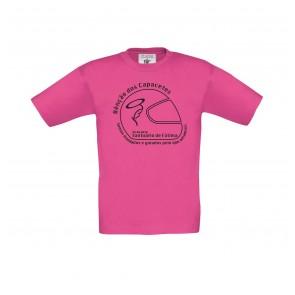 T-Shirt  B&C Exact 150 criança de manga curta