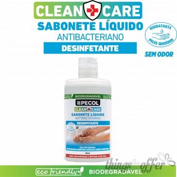 Sabonete Liquido Antibacteriano CLEAN+CARE 300ml