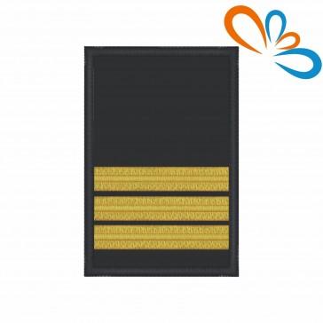 Divisa de 2º Comandante com Velcro – Bombeiros
