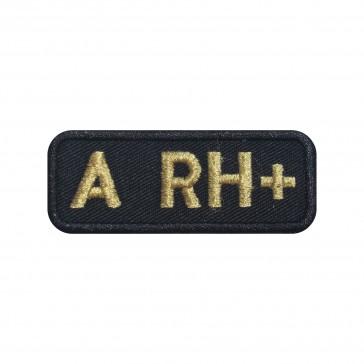 Emblema, Patch  Grupo Sanguíneo A Positivo (A rh+) em forma rectangular