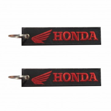 Porta-Chaves bordado da Honda na Horizontal