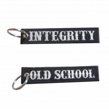 Porta-Chaves bordado Old School – Integrity