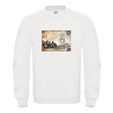 Sweatshirt B&C ID002 Unisexo Branco Tamanho S