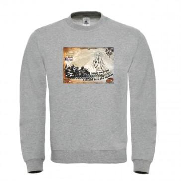 Sweatshirt B&C Set In Unisexo Cinzento ClaroTamanho M