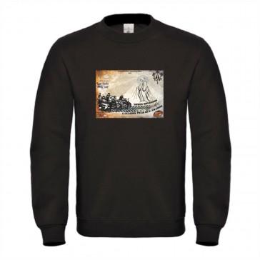 Sweatshirt B&C ID002 Unisexo Preto Tamanho L