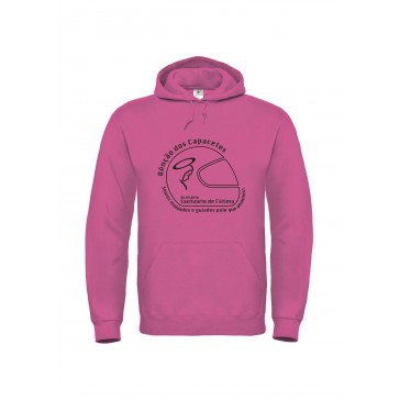 Sweatshirt B&C ID003 Unisexo Fuchsia Tamanho XXL