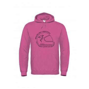 Sweatshirt B&C ID003 Unisexo Fuchsia Tamanho L