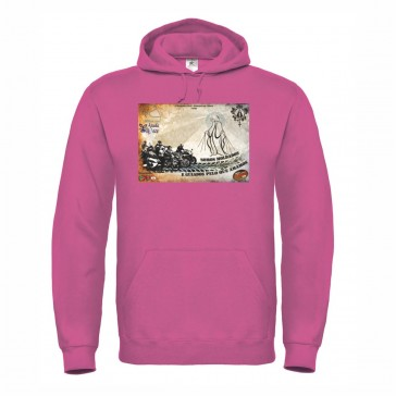 Sweatshirt B&C ID003 Unisexo Fuchsia Tamanho M