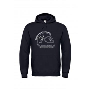 Sweatshirt B&C Hooded Unisexo Preto Tamanho M