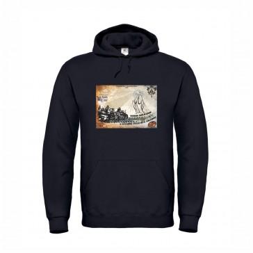 Sweatshirt B&C Hooded Unisexo Preto Tamanho L