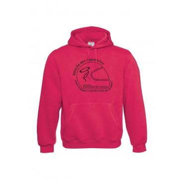 Sweatshirt B&C Hooded Unisexo Sorbet Tamanho M