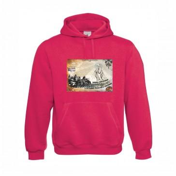 Sweatshirt B&C Hooded Unisexo Sorbet Tamanho S