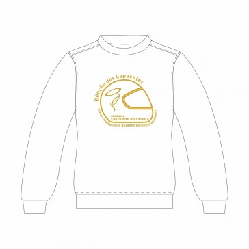 Sweatshirt SOL's New Supreme Unisexo Branco Tamanho S