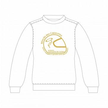 Sweatshirt SOL's Supreme Unisexo Branco Tamanho M