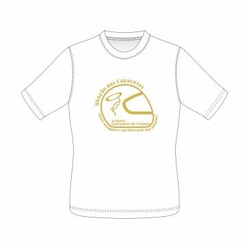 T-Shirt  Sol's Imperial Unisexo de manga curta, Branco Tamanho M