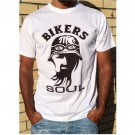 T-Shirt Unisexo B&P bikers Soul de Adulto de manga curta