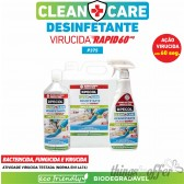 Desinfetante Multisuperfícies Rapid P375 CLEAN+CARE 1L