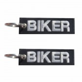 Porta-Chaves bordado Biker