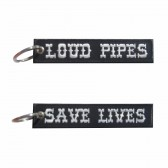 Porta-Chaves bordado Loud Pipes Save Lives