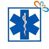 Emblema, Patch Estrela da vida Quadrada