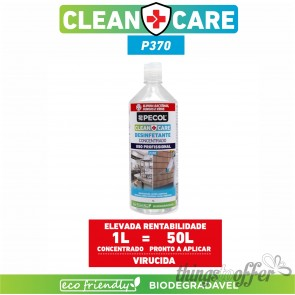 Desinfetante Multisuperfícies Concentrado P370 CLEAN+CARE 1L