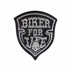 Emblema, Patch  Biker for life
