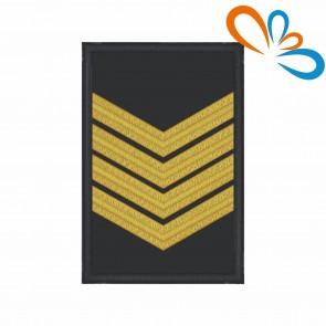 Divisa de Oficial Bombeiro 1ª, com Velcro