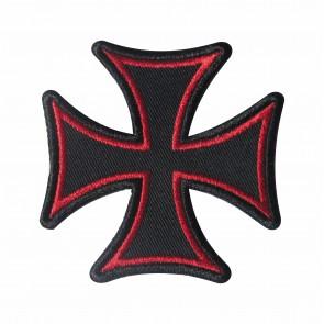 Emblema, Patch Cruz de Malta Vermelha