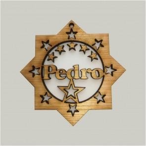Estrela personalizada com nome