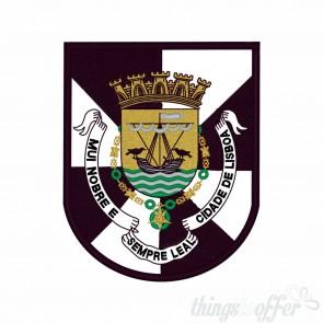 Emblema, patch Cidade de Lisboa