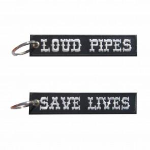 Porta-Chaves bordado Loud Pipes Save Lives