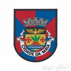Emblema, patch Cidade da Maia