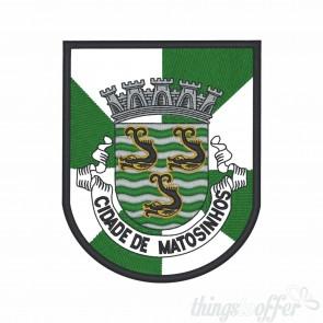 Emblema, patch Cidade de Matosinhos