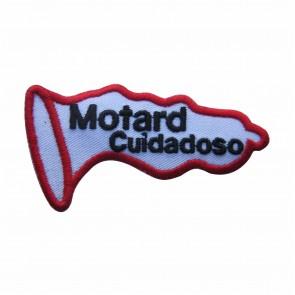 Emblema, Patch  Motard Cuidadoso