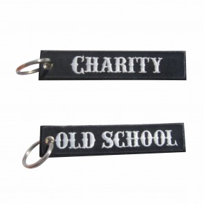 Porta-Chaves bordado Old School – Charity