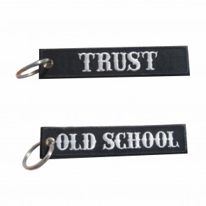 Porta-Chaves bordado Old School – Trust