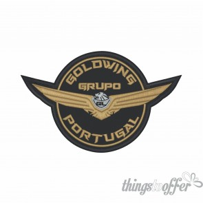 Emblema, Patch  Grupo Goldwing Portugal