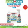 Desinfetante Multisuperfícies Rapid P375 CLEAN+CARE 1L
