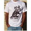 T-Shirt Unisexo B&P  Ride Free de Adulto de manga curta