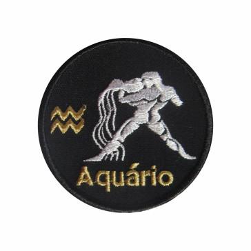 Aquarius Patch Zodiac Sign