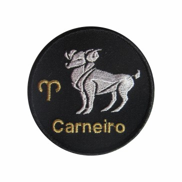 Zodiac Aries Embroidered Patch