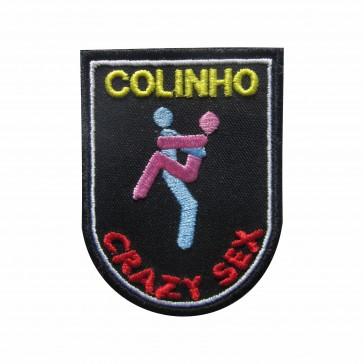 Embroidered patch Crazy Sex - Colinho