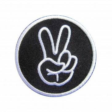 Embroidered patch Respect
