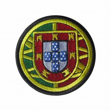Patch of Portuguese coat of arms