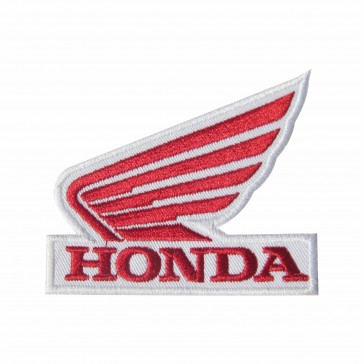 Embroidered patch biker band HONDA