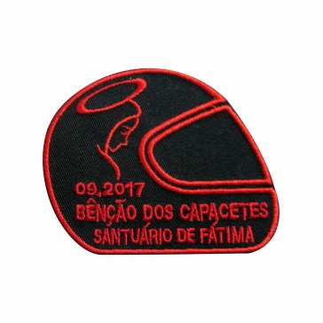 Embroidery Patch of 2017 Blessing of Helmets